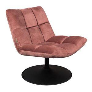 Nojatuoli_Velvet_pink_lounge_
