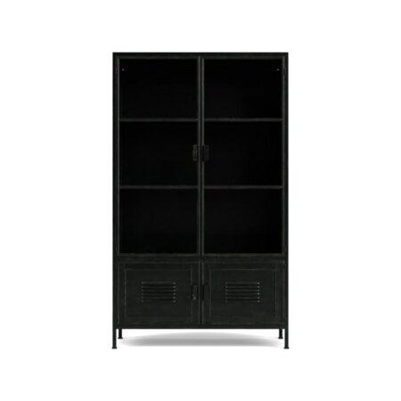 Kaappi_Ronja_Cabinet_metalli_musta