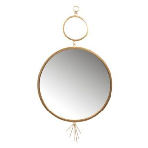 Peili_Tail_Mirror_metal_antique_brass_98_cm