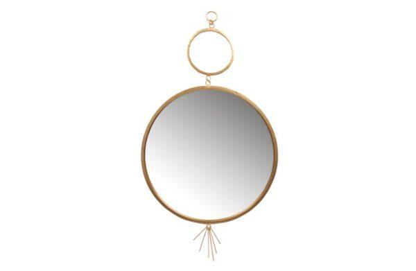 Peili_Tail_Mirror_metal_antique_brass_98_cm