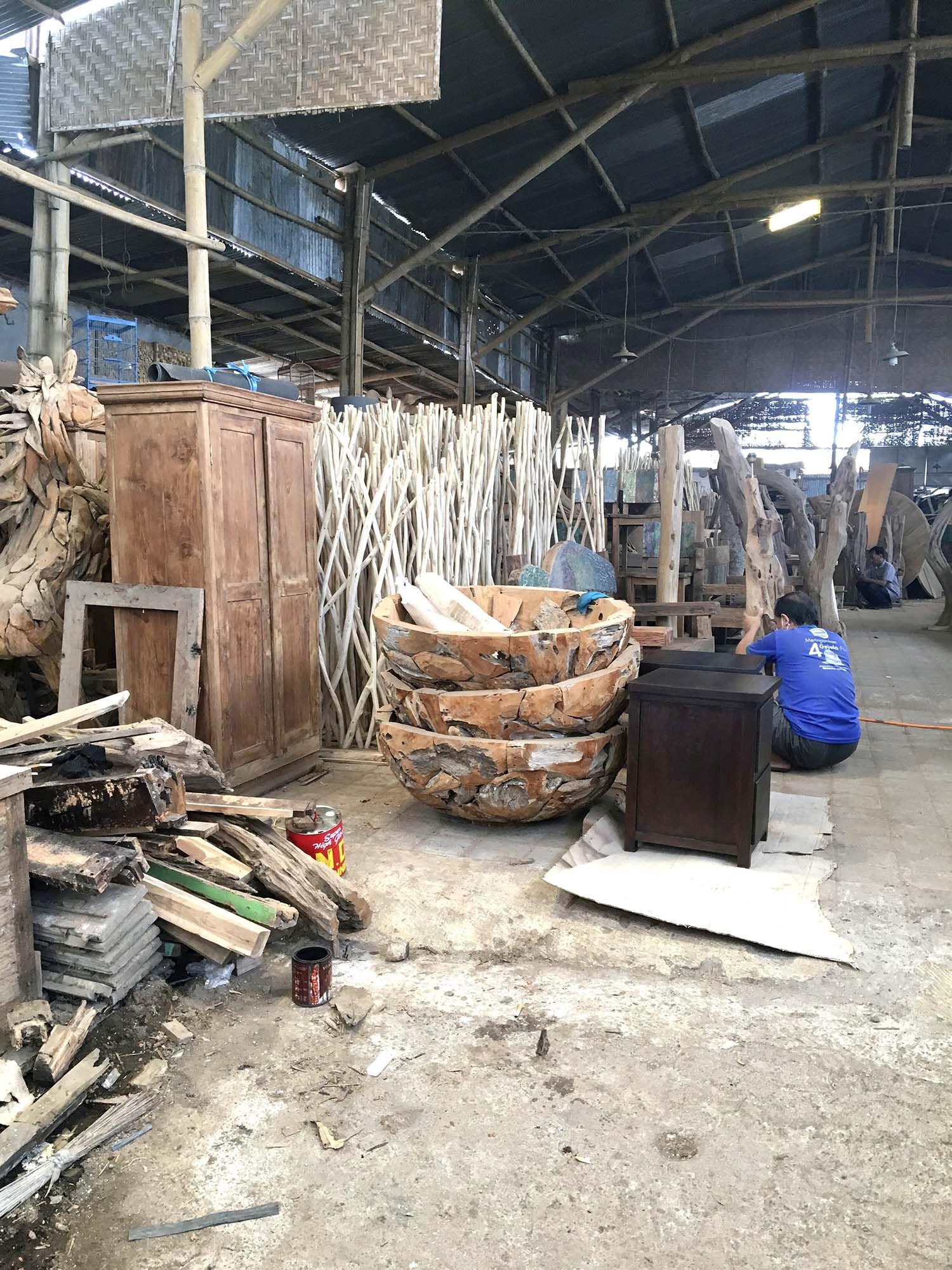 Sasu's Playhouse huonekalut Indonesiasta