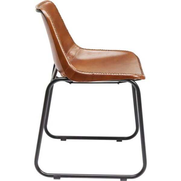 Tuoli_Chair_vintage_Brown_leather