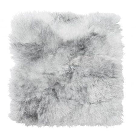 Istuinalus lammasta harmaa valkoinen 37 x 37